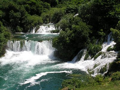National Park Krka Waterfalls + Šibenik