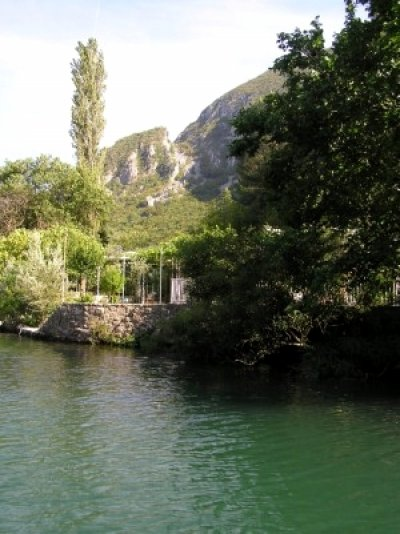 Rafting on river Cetina
