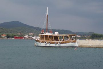 Panoramatic boat voyage on the Pašman channel