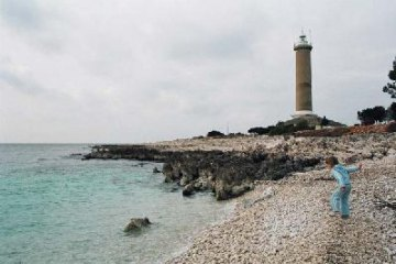 Lighthouse Veli Rat, Island Dugi otok