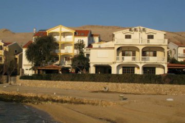 Pension Zlatna plaza (rent of apartments), Pag - island Pag